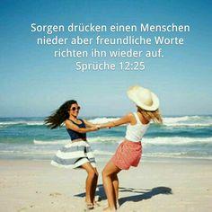 Sorge dich um nichts!Gott sorgt für dich!