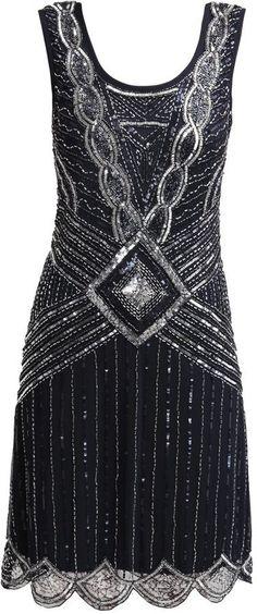 Pin for Later: Die 45 schönsten Kleider (& 5 coole Jumpsuits) für den besten Abiball aller Zeiten  Athena Frock and Frill Flapperkleid im Stil der 20er Jahre (180 €)                                                                                                                                                     Mehr