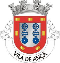 Brasão de armas de Ançã - Ançã é uma vila portuguesa e freguesia do concelho de Cantanhede, com 18,1 km² de área e 2 625 habitantes (2011). Tem uma densidade populacional de 145 hab/km². Integra-se no distrito de Coimbra, a aproximadamente 10 km, sendo a vila da Bairrada mais próxima da capital de distrito. O nobre e preservado centro histórico de Ançã é um complexo arquitetónico de valor inquestionável - ao estilo do Marquês de Cascais, senhor da Vila de Ançã.