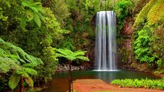 download waterfall wallpaper high quality