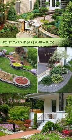 Get inspired favorite front yard landscaping designs and ideas for your garden  #frontyard #landscaping #gardening #home