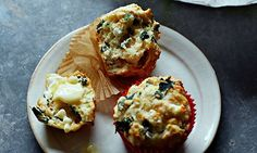 10 best Spinach recipes: feta and smoked paprika muffins