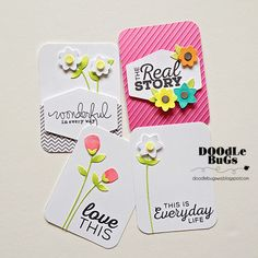 Doodlebugs: Project Life / Pocket Scrapbooking with Technique ...