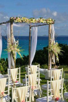 Destination wedding on the beach http://www.mybigdaycompany.com/weddings.html