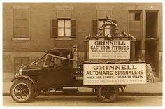 Grinnell Automatic Fire Sprinkler Advertisment Truck