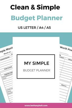 This Budget Planner Will Give You An Easy To Follow Plan To Set Up
