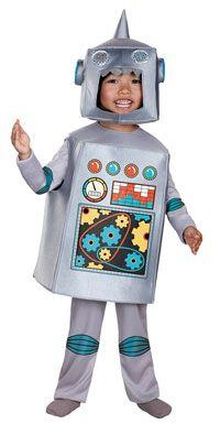 Retro Robot Costume - Kids Costumes @ Jenny Grant