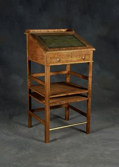 Another historical example of a standing up desk