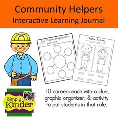 Community Helpers - Interactive Learning Journal