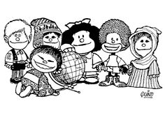 Coloriage Dessins. Mafalda 10