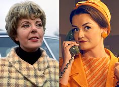 Alison Wright and Pauline Jameson from Feud: Bette and Joan Transformations: See How Much the Cast Looks like the Real-Life Figures