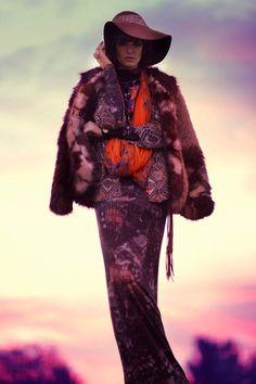 The Marie Claire Latin America December 2013 Editorial Stars Lauren Switzer #bohemian #fashion trendhunter.com
