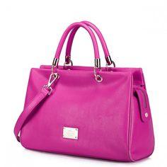 Skórzana torebka do ręki Różowy  http://www.jakatorebka.pl/pl/p/Skorzana-torebka-do-reki-Rozowy/2334