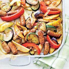 Recept - Ratatouille met aardappel en worst - Allerhande