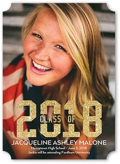 Gleaming Class Stationery Card by Poppy Studio. Celebrate the new graduate with this unique graduation announcement. Personalize with the graduate's name and the event details. Graduation Announcement Cards, Graduation Announcements, Grad Invites, Invitations, Shutterfly, Custom Photo, Stationery, Graduation Ideas, Bokeh