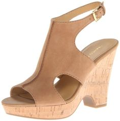 #saucy Franco Sarto Women's Glamour Wedge Sandal,Sand,7.5 M US