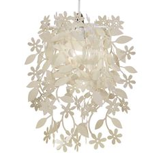 Modern Cream Shabby Chic Style Ceiling Light Pendant Shade Chandelier
