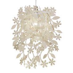 Modern Cream Shabby Chic Style Ceiling Light Pendant Shade Chandelier