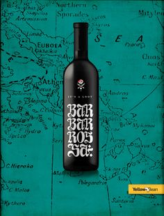 WINE PACKAGING FOR BARBAROSSA RESTAURANT
