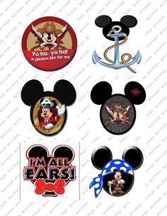 6 Disney's Mickey Mouse Pirate Printable by SAVVYCOUNTRYDESIGNS