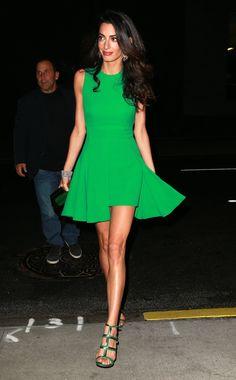 Green & Amal Clooney