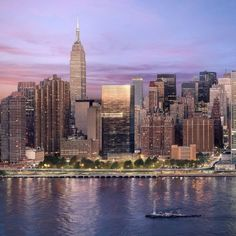 Richard Meier releases more images of black tower for New York