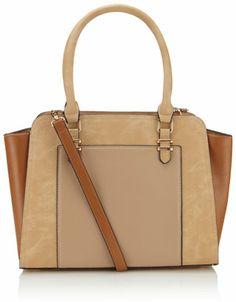 Textured Winged Shoulder Bag