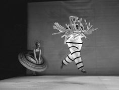 "1922 ""Triadic Ballet"" by Oskar Schlemmer, here in the Reconstruction, by Colleen Scott and Ivan Liska 1977."