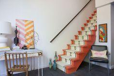 Idee per decorare scale Shabby Chic n.05