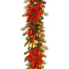 Found it at Wayfair - Decorative Pre-Lit Home for the Holidays Garland