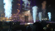 Smok'n show of #AdamLambert #Queen #Toronto @QueenWillRock pic.twitter.com/Mjf8xYhXCF