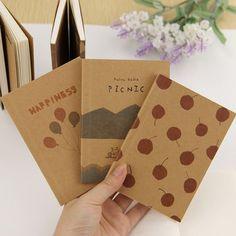 1pcs Wholesale Stationery Vintage Pastel Drawing Pastels Pockets Notedpad Lovely Notebook 8 Styles Pocket Book