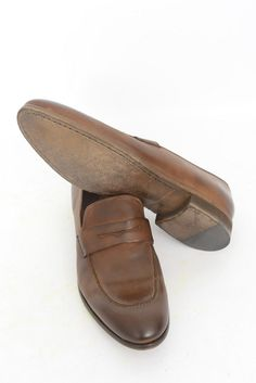 Men's DONALD J PLINER Brown Dipped Calf Leather Driving Loafers  |  Get in there! http://www.frieschskys.com/footwear/shoes  |  #frieschskys #mensfashion #fashion #mensstyle #style #moda #menswear #dapper #stylish #MadeInItaly #Italy #couture #highfashion #designer #shopping