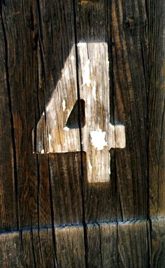 4 No. 22 #4, #number, #typography