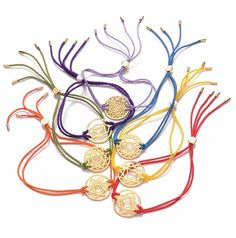 Daisy Jewellery's fabulous collection of Chakra Bracelets - a favourite among some of the IJL team: http://www.daisyjewellery.com/