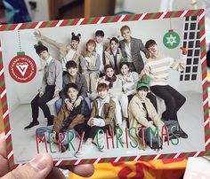 Merry xmast SEVENTEEN PROUD OF YOU....BOYS