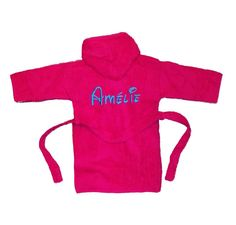 Bekijk dit items in mijn Etsy shop https://www.etsy.com/listing/256224912/personalised-baby-bathrobe-name