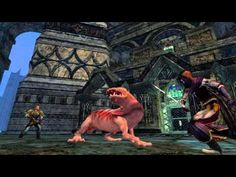 Lord of the Rings Online Mines of Moria PC 2008 Gameplay