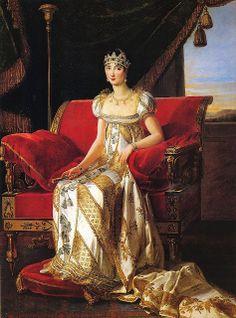 Marie-Guillemine Benoist (French artist, 1768–1826) Pauline Bonaparte, Princess Borgehese