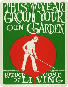 This year grow your own garden -Reduce cost of living.