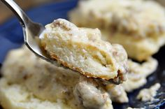 Learn my families home prepared biscuits & gravy dish - super easy and delicious! http://accordingtobrian.com/biscuitsngravy