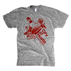 City Of Hustle Tee Mens, $22, now featured on Fab.