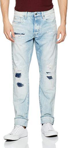 Super  Bekleidung, Herren, Jeanshosen G Star Raw, Tapered Jeans, Super, Skinny Jeans, Stars, Pants, Fashion, Clothing, Trouser Pants