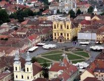 Piata Unirii Timisoara Beautiful World, Beautiful Places, Timisoara Romania, City Scene, Homeland, Places Ive Been, Mansions, Architecture, House Styles