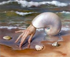 Surrealism and Visionary art: Alex Alemany Surrealismo e arte visionaria: Alex Alemany Art And Illustration, Surealism Art, Art Sculpture, Magic Realism, Surrealism Painting, Water Art, Realistic Paintings, Oil Paintings, Weird Art