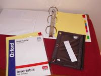 Stephanie's Mommy Brain: How to make and use a Finance Binder for your financial paperwork.