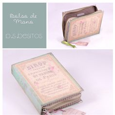 Book clutch by P.S.  Besitos