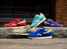 "Reebok Classic Leather   ""Summer Suede"" Pack"