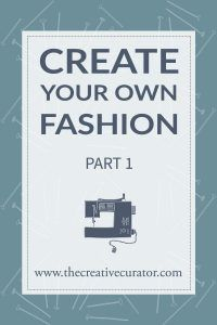 DIY - create your own fashion. This three part Guide will get you sewing in the right direction. Clock through for the latest post!