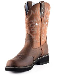 Womens Ariat Fatbaby Boots Black 10008741 via @Allens Boots | My